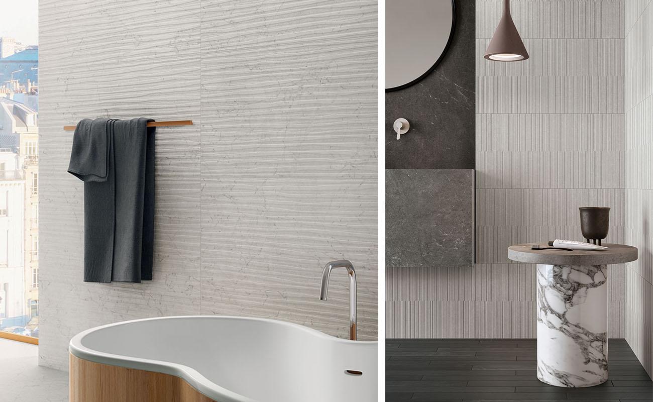 Rivestimenti Bagni Piccoli Esempi scegliere le piastrelle del bagno: 5 soluzioni   marca corona