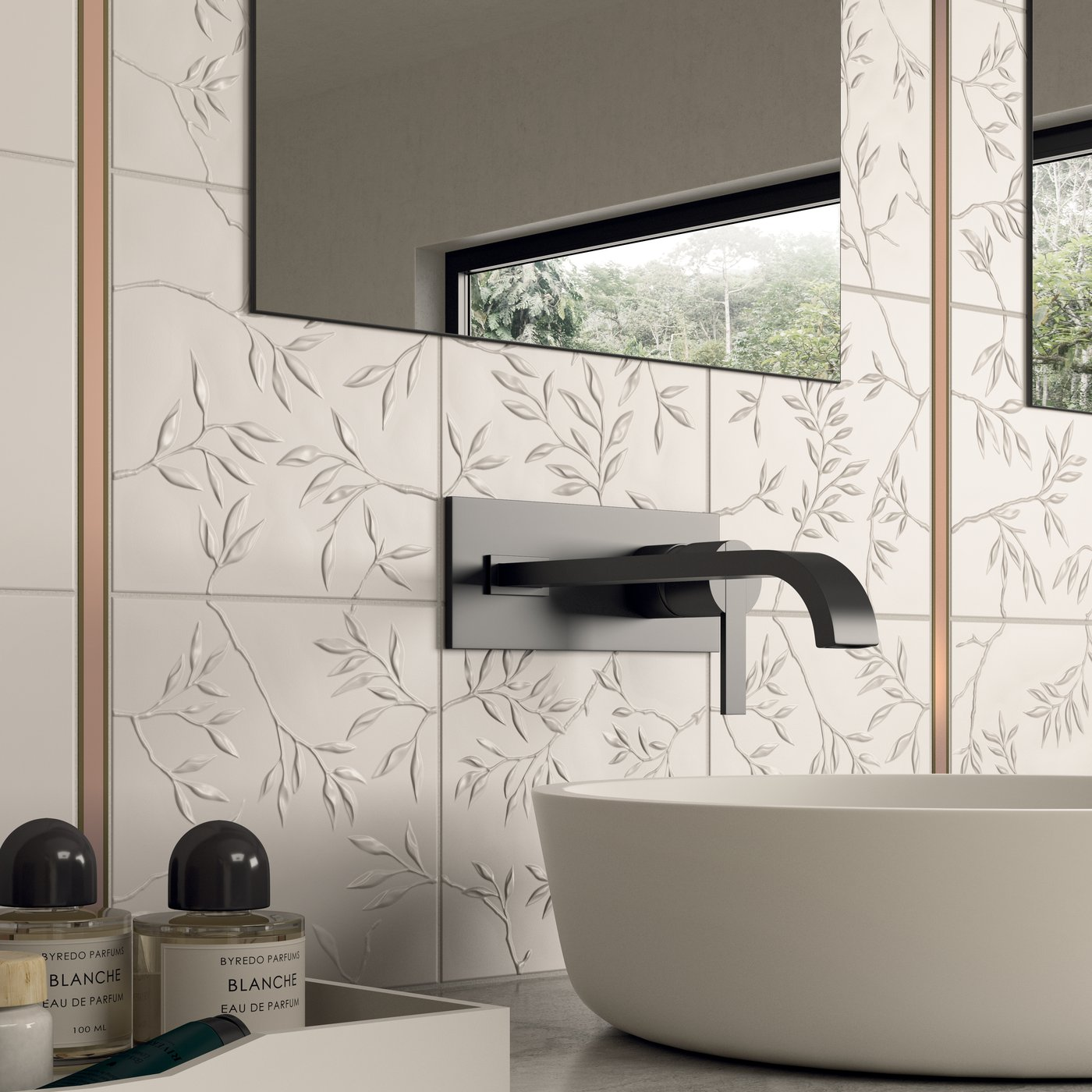 3d Style Tiles In Stoneware And White Body 4d Marca Corona