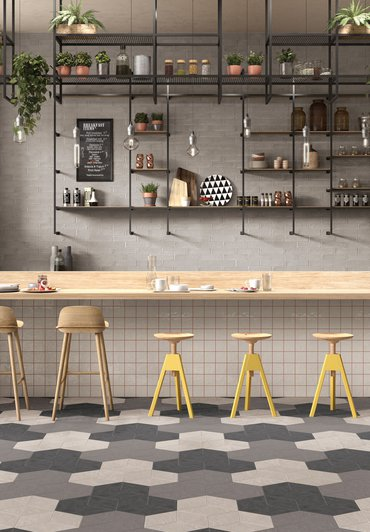 PIASTRELLE PER CUCINA, LIVING E CAMERA DA LETTO Chalk | Marca Corona ceramic tiles