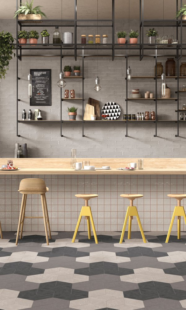 CONCRETE Chalk | Marca Corona ceramic tiles