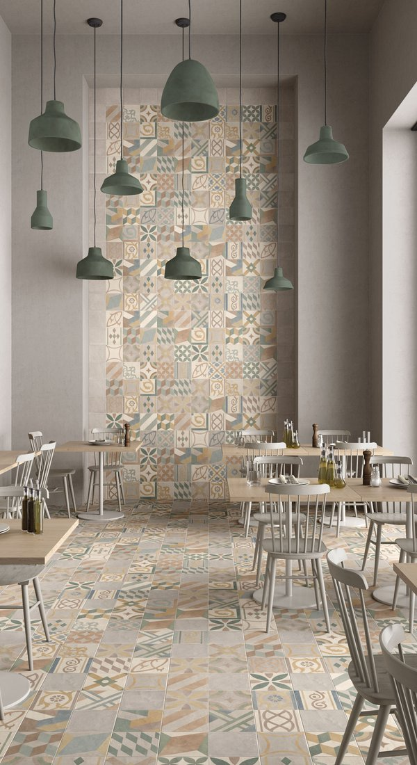 GREY TILES Chalk | Marca Corona ceramic tiles