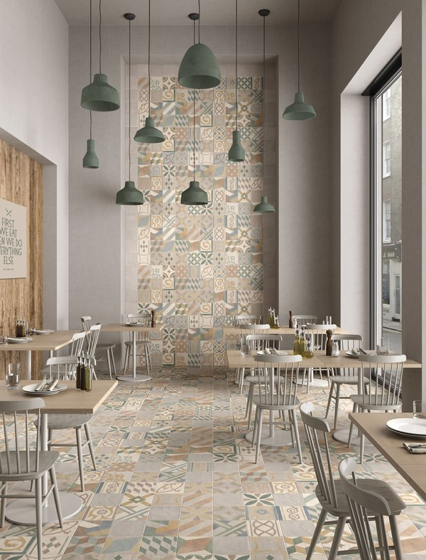 COMMERCIAL Chalk | Marca Corona ceramic tiles