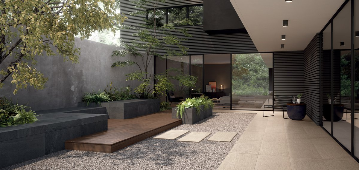 OUTDOOR Matrix | Marca Corona ceramic tiles