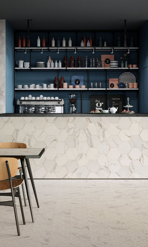 COMMERCIAL Motif | Marca Corona ceramic tiles