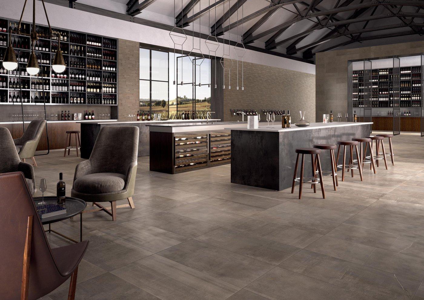 StoneOne concrete and stone-effect tiles   Marca Corona