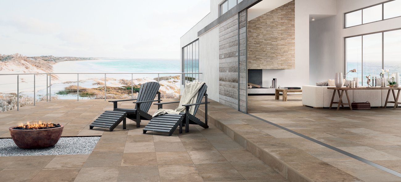 Natural stone-effect porcelain tiles Springstone