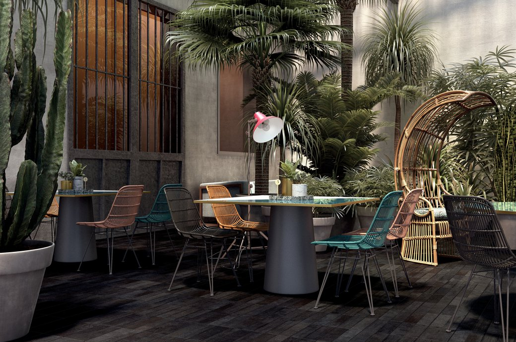 OUTDOOR TexTile | Marca Corona ceramic tiles