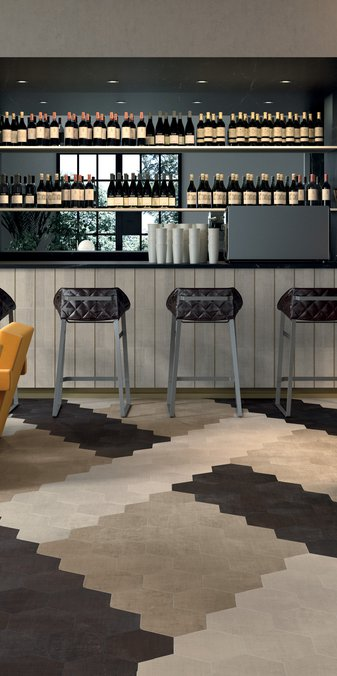 Brown TexTile | Marca Corona ceramic tiles