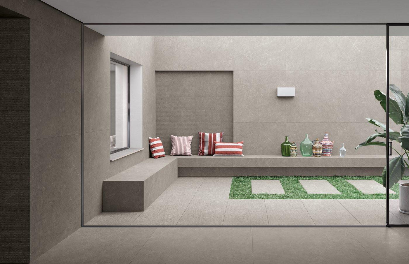 Elegant Floor Tiles Arkistone Marca Corona