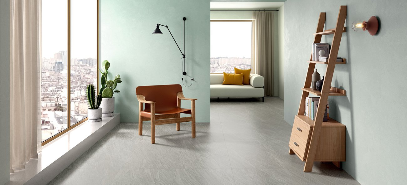 Stone effect floor and wall tiles Encode
