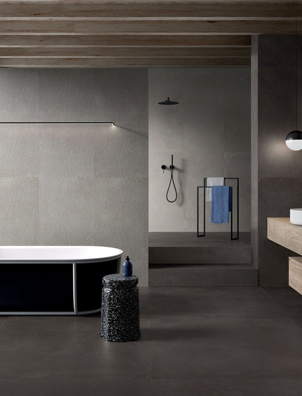 Black Phase | Marca Corona ceramic tiles