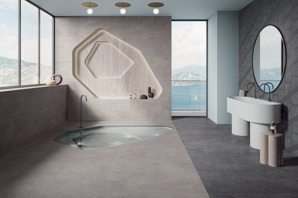 GREY TILES Star Road | Marca Corona ceramic tiles