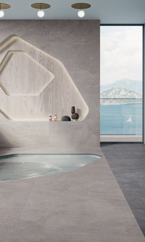 GRES PORCELLANATO GRIGIO Star Road | Marca Corona ceramic tiles