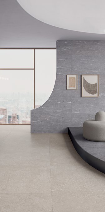 GRES PORCELLANATO GRIGIO Tide Road | Marca Corona ceramic tiles