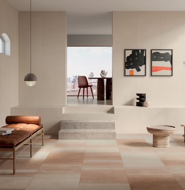 Kitchen, living room and bedroom tiles Overclay | Marca Corona ceramic tiles