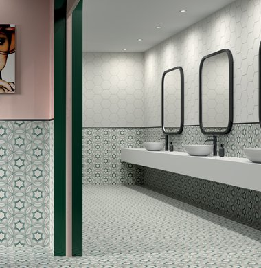BATHROOM TILES Paprica | Marca Corona ceramic tiles