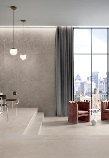 Kitchen, living room and bedroom tiles Phase | Marca Corona ceramic tiles