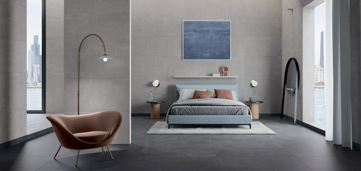 GREY TILES Stonecloud | Marca Corona ceramic tiles