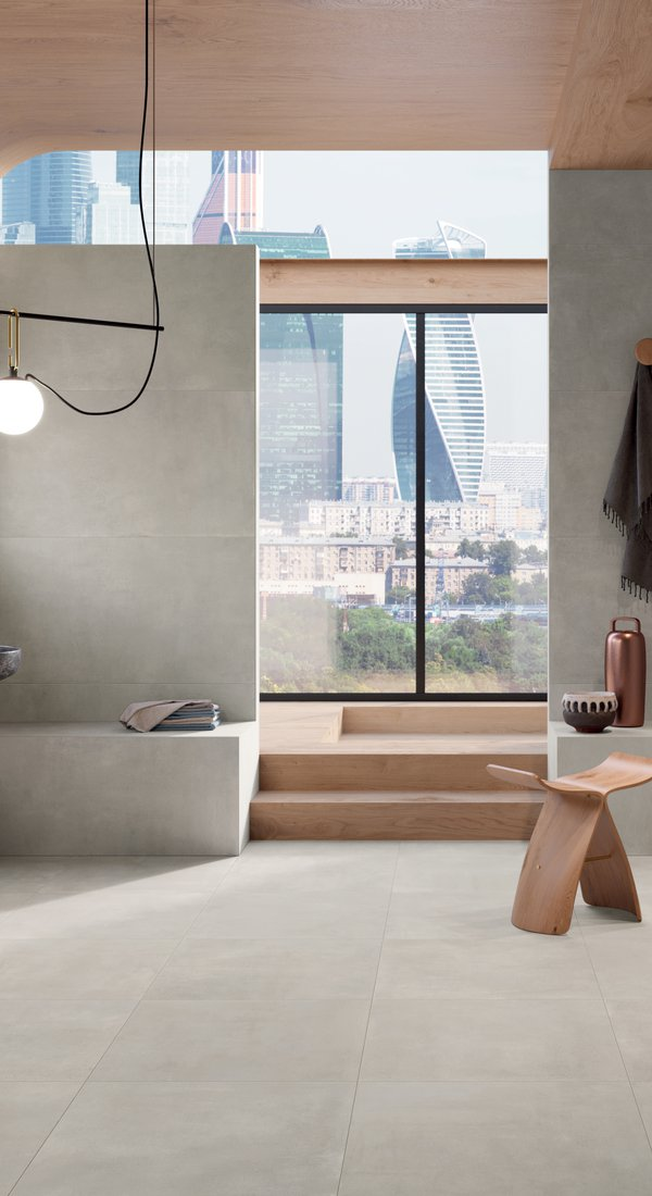 BATHROOM TILES Stonecloud | Marca Corona ceramic tiles