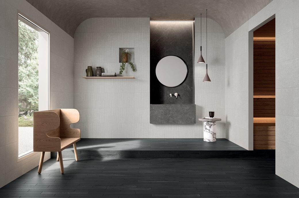 Piastrelle design: matt glossy tridimensionali e retrò marca corona