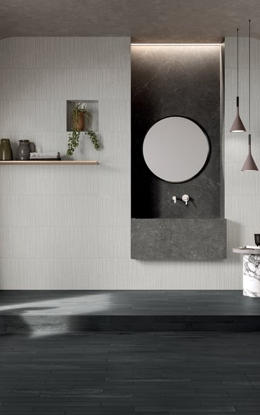 GREY TILES Soul Bay | Marca Corona ceramic tiles