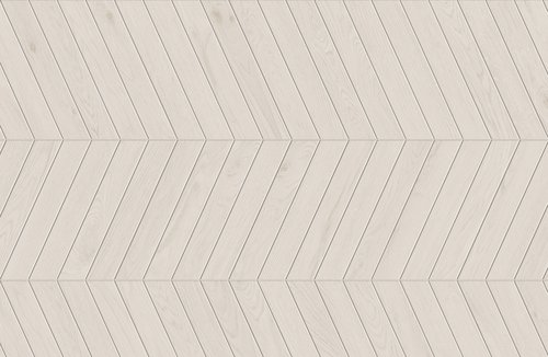 LAGOM COATED WHITE CHEVRON A+B