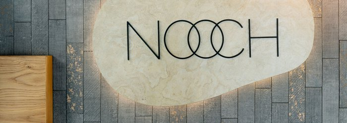 Nooch restaurant: interior design and tiles