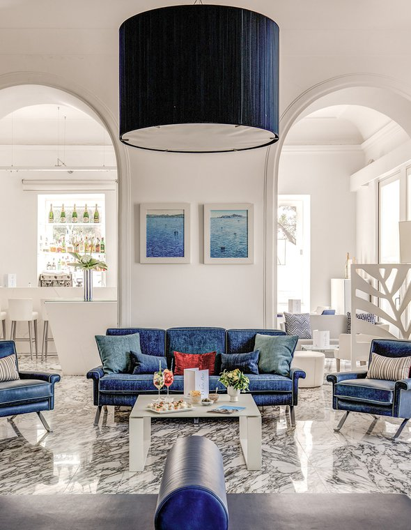 Hotel Mediterraneo Sorrento: design project