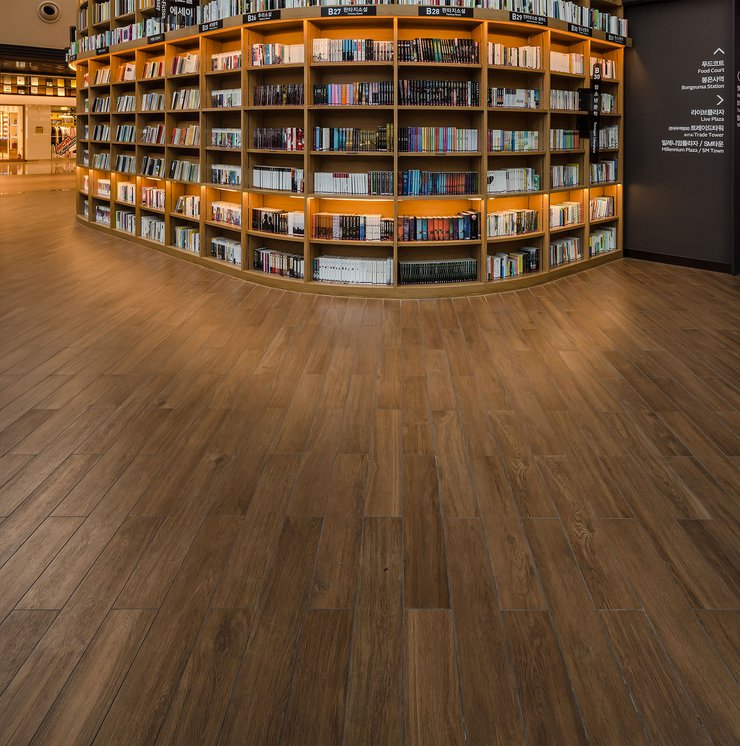 Starfield Library: Marca Corona porcelain stoneware tiles