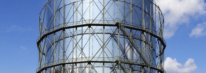 Gasometer Pforzheim: architecture and design