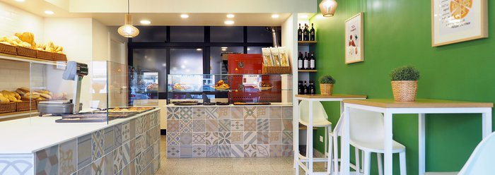 Panetteria Lo Spuntino chooses Chalk tiles